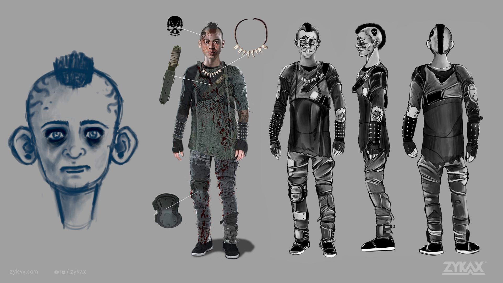 zykax servicios de animacion cortometraje rebirth 2