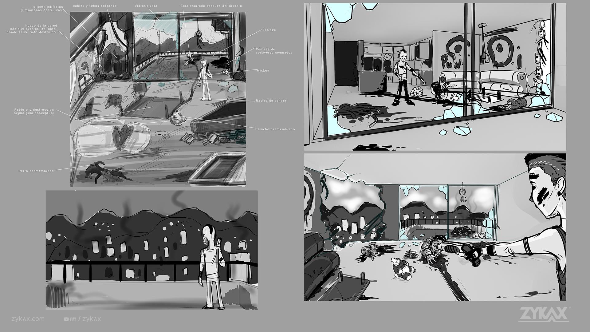 zykax servicios de animacion cortometraje rebirth 6