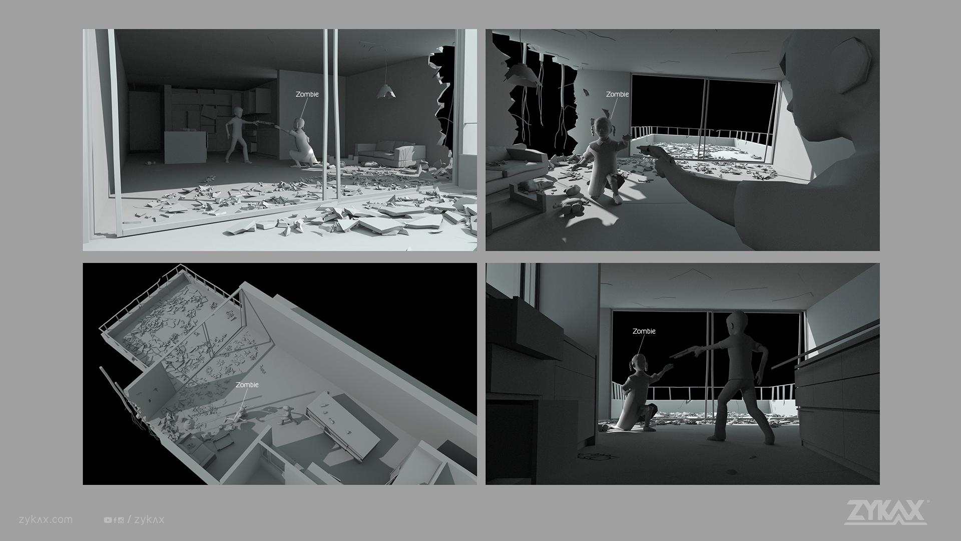 zykax servicios de animacion cortometraje rebirth 7